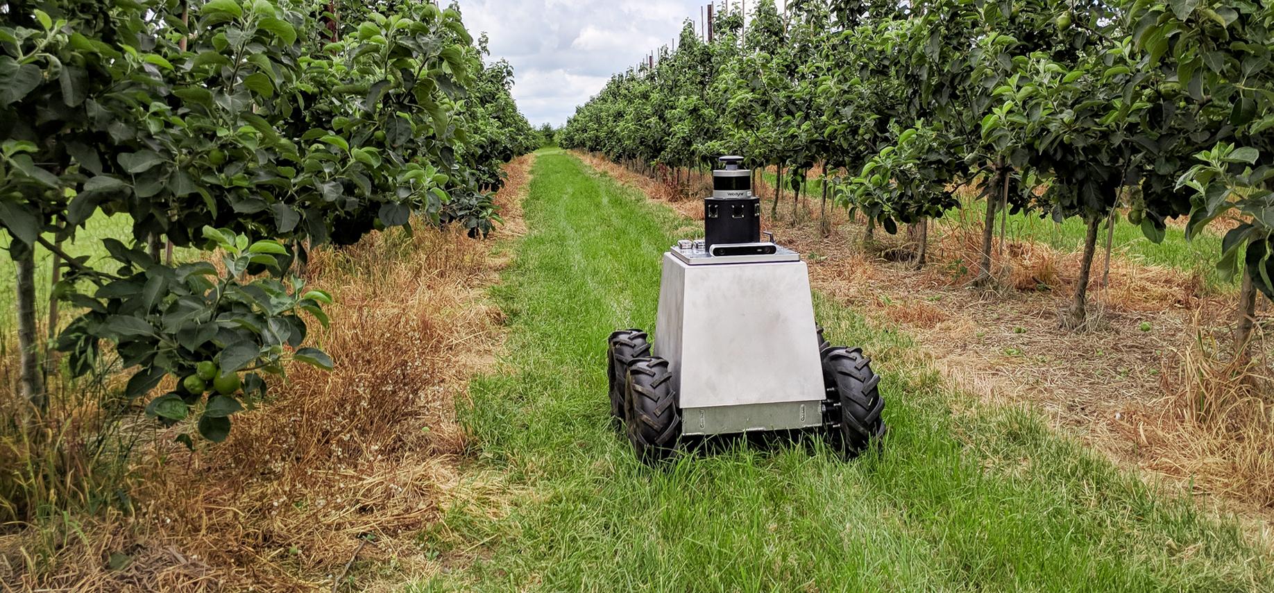 AI Powered Robot for Autonomous Crop Management